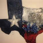 texas wall ornament