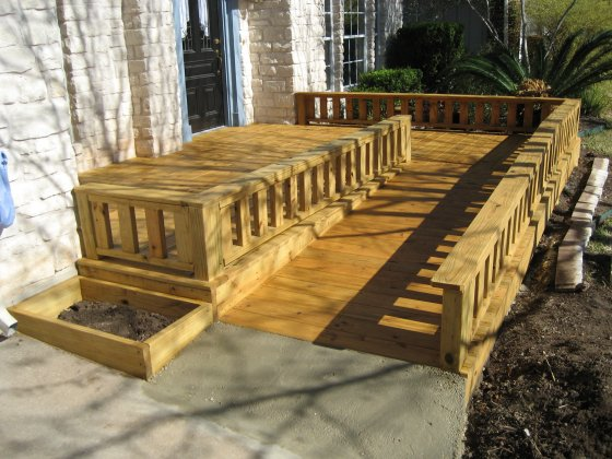 Wooden Wheelchair Ramp